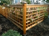 Custom cedar fence - West Seattle, Ecoyards