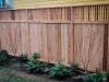 Cedar fence with trellis - Seattle, Ecoyards.com