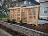 Cedar trellis - Madrona, Ecoyards.com