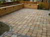 Paleo paver patio with raised cedar bed, Seattle