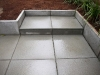 Architectural slab paver steps - West Seattle, Ecoyards