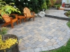 Roman cobblestone paver patio - West Seattle, Ecoyards.