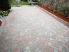 Old Dominion paver patio with circle pattern, Seattle - Ecoyards.