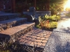 Old Dominion pavers, Roman Pisa steps, basalt columns - West Seattle, Ecoyards.