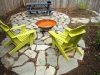 Flagstone patio - Seattle, Ecoyards.