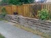 ManorStone retaining wall, West Seattle - Ecoyards