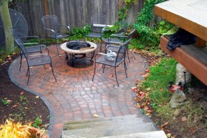 Old Dominion, paver patio, seattle